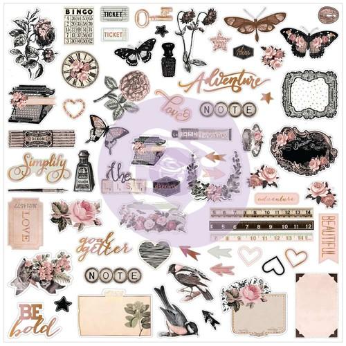 Prima Marketing Коллекция Amelia Rose - Ephemera with Foil Accents. Арт 596705