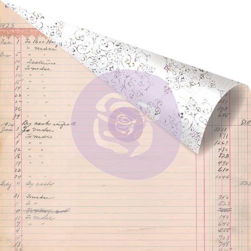 Prima Marketing. Коллекция Lavender. Paper My Last Note. Бумага для скрапбукинга. арт 848774