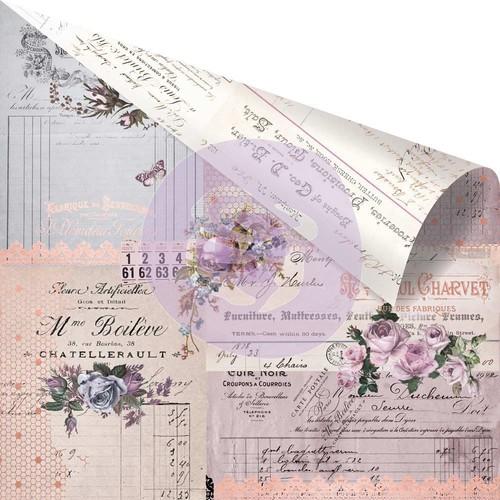 Prima Marketing. Коллекция Lavender.Paper Through the Years. Бумага для скрапбукинга. арт 848750