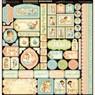 Набор бумаги Little Darlings - Deluxe Collector's Edition 12х12