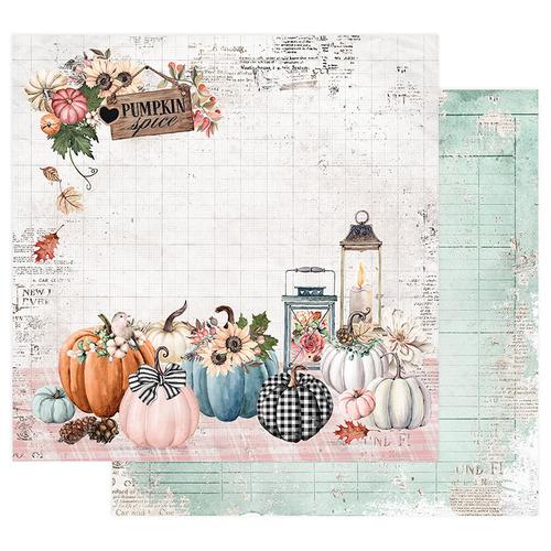 Prima Marketing- Pumpkin and Spice Collection Pumpkin Spice. Бумага для скрапбукинга. арт 849603.