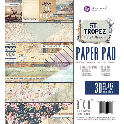 Prima Marketing St. Tropez Collection - Набор бумаги 20*20