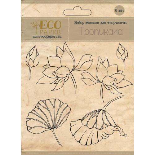 "Набор штампов ""Тропикана"" от Eco paper"